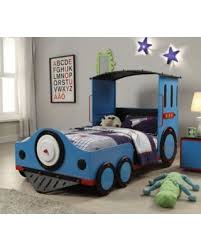 Thomas The Train Bed Great Deals On Acme Furniture Tobi Train Twin Bed In Blue And Red
