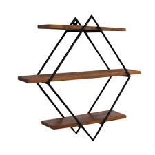jasmine mango wood mounted wall shelves cult furniture