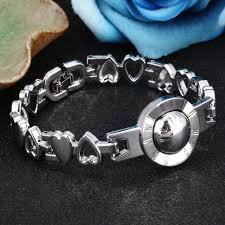 charms bracelet design images Brand design silver hand link chain bracelets for women men jpg