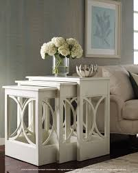 white nest of tables american treasures nest of tables habersham home lifestyle