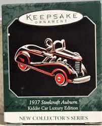 hallmark 1937 steelcraft auburn kiddie car series 1st