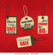 black friday swing set vintage retail swing tags stock vector 165081554 shutterstock