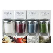 Sedona Luxury Homes by Sedona Botanica Luxury Fragrance Candle 4 Pk Walmart Com