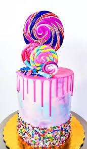 rainbos cake birthday ideas pinterest cake cake designs and
