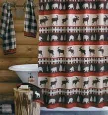 Cabin Shower Curtains Rustic Shower Curtain Hooks Foter