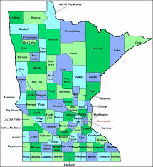 mn counties map county maps of minnesota from onlyglobes com