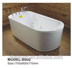 Whirlpool For Bathtub Portable Acrylic Portable Jet Whirlpool Square Shaped Bathtub For Adults