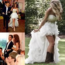 short country wedding dresses with boots wedding dress ideas