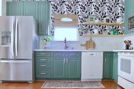 how to choose a color to paint kitchen cabinets this one of a kitchen renovation is proof that shape