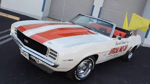 69 camaro pace car for sale 1969 chevrolet camaro pace car rs ss convertible