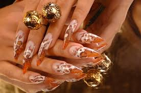 30 inspirational stiletto nails pictures