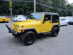 2002 jeep wrangler mpg used yellow jeep for sale from 1 000 to 122 000