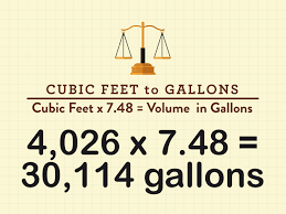 Computing Square Footage by How To Calculate Swimming Pool Volume In Gallons With Cheat Sheets