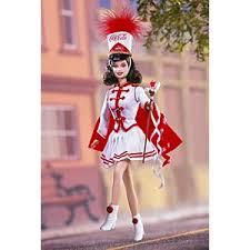 Coca Cola Halloween Costume Coca Cola Barbie Doll Majorette 53974 Barbie Signature