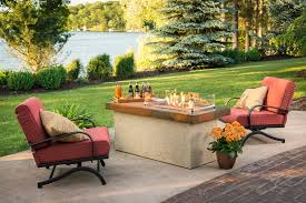 Patio Sets With Fire Pit by Fire Pit Tables Burnsville Mn Wissota Outdoor Living