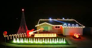 Light Show Lights Christmas Star Warsstmas Lights Display Light String Show