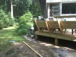 Deck Bench Bracket Deck Bench Low Youtube