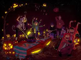 pics of happy halloween invader zim x ahh real monsters happy halloween by e hima on