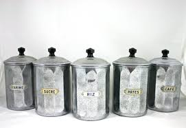 tin kitchen canisters vintage kitchen canister tin set coffee sugar flour rice jars