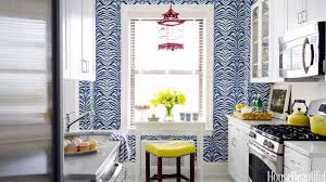 Kitchen Wallpaper Designs by Home Decorating Ideas Kitchen Designs Paint Colors House Beautiful