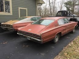 dodge charger car parts 1966 dodge charger plus 1967 parts car rebuilder project for