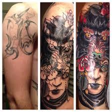 coverup done by josh martin at stay true tattoo in sedalia