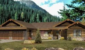 ranch style log home floor plans log home floor plans ranch style loft fireside homes home plans