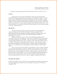 biology lab report template biology lab report template simple captures formal exle 1