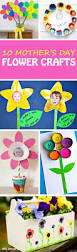 easy mother u0027s day flower crafts for toddlers preschoolers