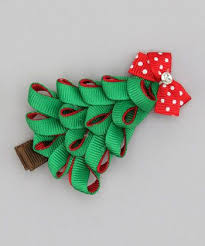 christmas hair bows twirl sweet tweet bowtique daily deals for babies
