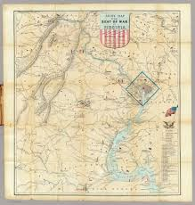 A Map Of Virginia by Map Of The Week U201carmy Map Of The Seat Of War In Virginia