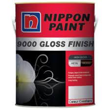 nippon paint 9000 gloss finish standard colour 1l