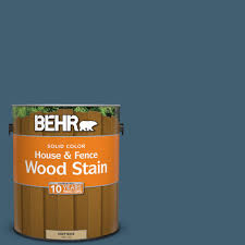 Paint Colors At Home Depot by Behr 1 Gal Sc 107 Wedgewood Solid Color House And Fence Wood