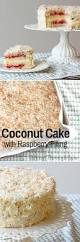 coconut cake with raspberry filling sifting through life