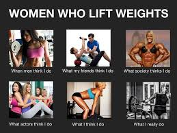 Woman Lifting Weights Meme - the female fear of becoming bulky is a myth and here s why