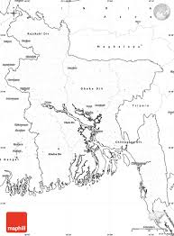 Blank World Map With Longitude And Latitude by Blank Simple Map Of Bangladesh