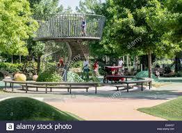 Oklahoma City Botanical Garden Part Of The Children S Garden And Playground At The Myriad