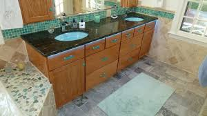 sea glass bathroom ideas bathroom vanity with uneek glass fusions sea glass cabinet