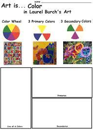 the smartteacher resource art is color in laurel burch u0027s art