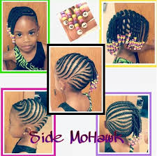 images of kids hair braiding in a mohalk image result for black woman side cornrows natural styles for