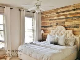 2 accent walls in bedroom upholstered queen headboard accent wall
