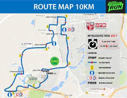 Running Map Route by Mybuddies Run