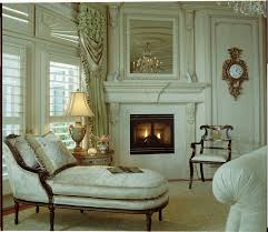 interior christmas decorated sitting room fireplace and