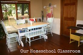Homeschool Desk Our Homeschool Classroom