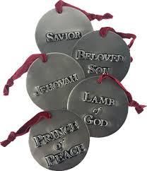 names of ornaments set of 12 deseret book