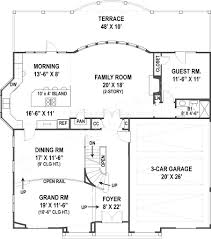 House Plans With Guest House villa royale luxury home plans tuscan house plans