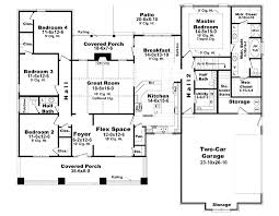 house plans 2400 square feet mediterranean home beauteous sq ft