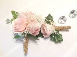 pink corsages for prom peony boutonniere and corsage pink filter paper groom boutonniere