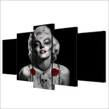 chambre marilyn hd printed marilyn painting canvas print