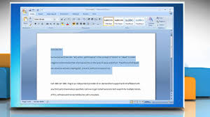 format lop word 2010 how to double space lines in microsoft word 2007 youtube